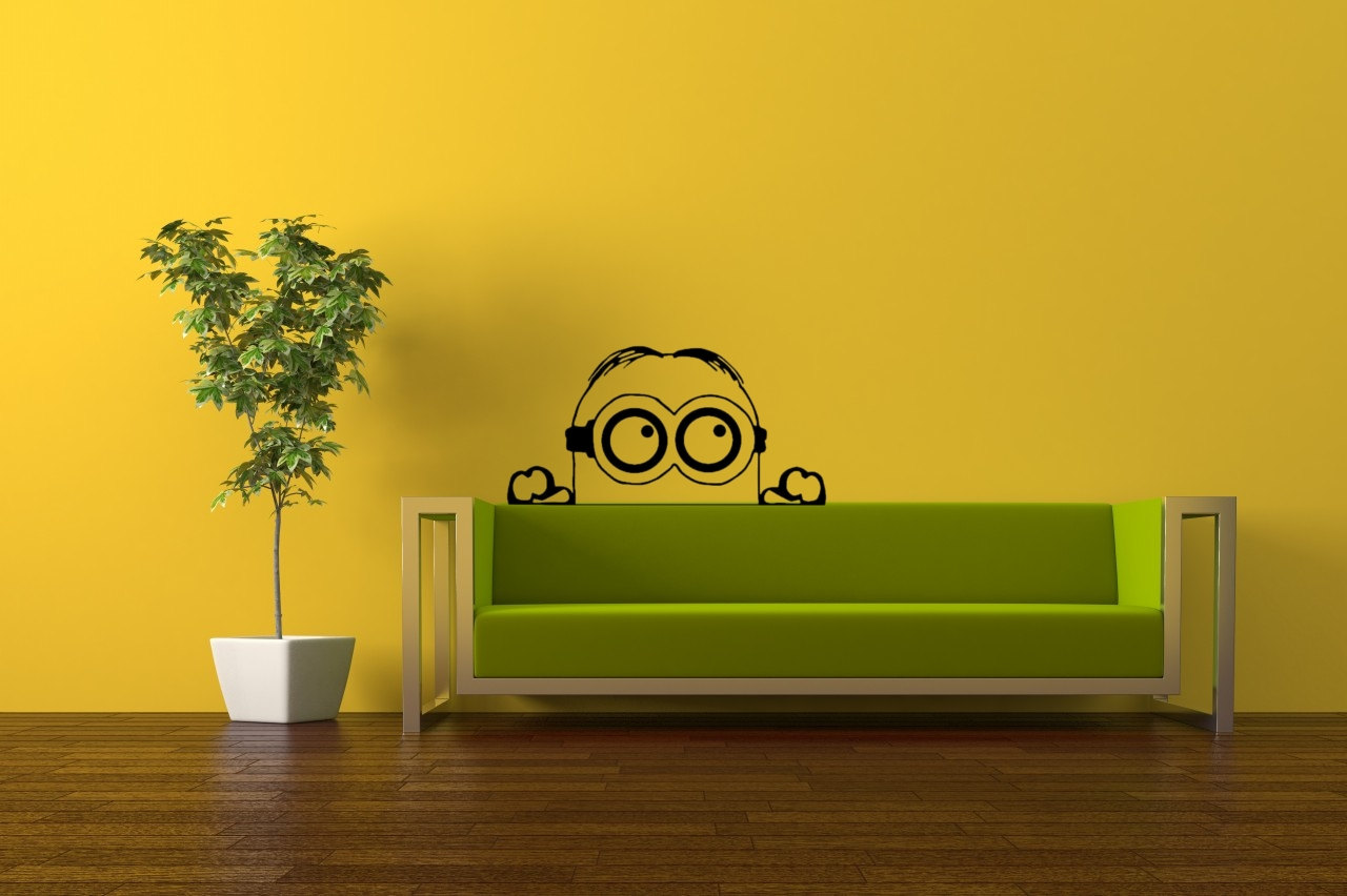 Despicable Me. Minions Wall Art / Vinyl Decal. Home Decor - Living ...